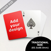 Classic Choice - Custom Poker Back (63.5 x 88.9mm)