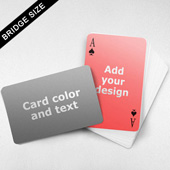 Message Front Bridge Card – Wide Surface