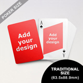 Twist Custom Front and Back Playing Cards (63.5 x 88.9mm)