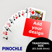 Pinochle Fun - Classic Choice (Landscape) (63.5 x 88.9mm)