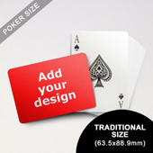 Classic Choice – Custom Poker Front (Landscape) (63.5 x 88.9mm)