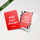 Mini Card Series – 2-side Blank with Framed Back