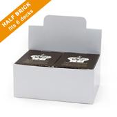 Half Brick Box for 6 Playing Card Decks