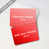 Custom Blank Game Cards - Landscape (63 x 88mm)
