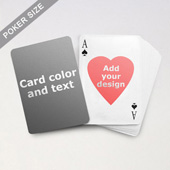 Heart-to-Heart Series - Custom Back Playing Cards