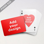 Heart-to-Heart Series – Custom Front and Back Playing Cards (Landscape)