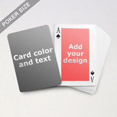 Classic Personalized Both Sides Playing Cards