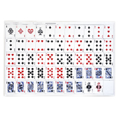 Uncut Sheet Playing Cards - Poker Size