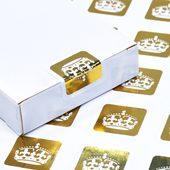 Custom Gold/CMYK Deck Seals