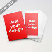 Classic Custom Front and Back Playing Cards
