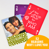 52 Reasons Love Card Deck - Custom Back