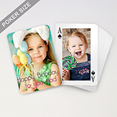 Custom Birthday Playing Cards with Border