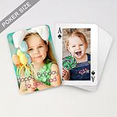 Custom Birthday Playing Cards with Border