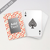 Custom Patterned Monogram Playing Cards