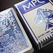 Impressions Foil Blue Back Playing Cards