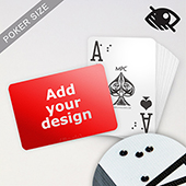 Custom LED UV Embossed Braille Playing Cards