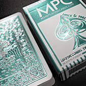 Impressions Foil Mint Back Playing Cards