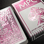 Impressions Foil Pink Back Playing Cards