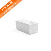 Plain Rigid Box for 360 Small Square Cards