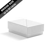 Plain Rigid Box for 90 Bridge Cards
