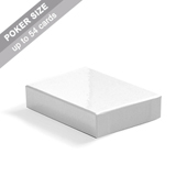 Plain Rigid Box for 54 Poker Cards