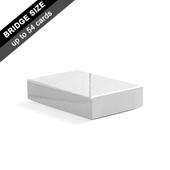 Plain Rigid Box for 54 Bridge Cards