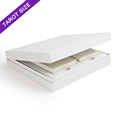 White Double Deck Display Box Tarot Size