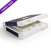 Custom Double Tarot Deck Case (White Tray)