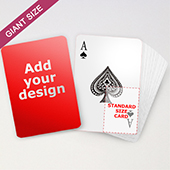 Custom Giant Playing Cards