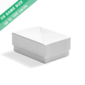 Plain Rigid Box for US game size cards