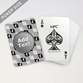 Customized Monogrammed MPC Playing Cards