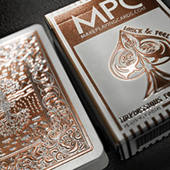 Impressions Foil Bronze Back Playing Cards