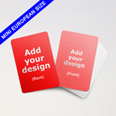 Custom Mini European Game Cards 44mm X 67mm