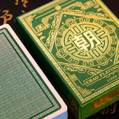 CHAO Jade Green Ed. Playing Cards