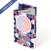 Custom Instruction Booklet (3.5x5 Inch, Z-fold 6 sides)