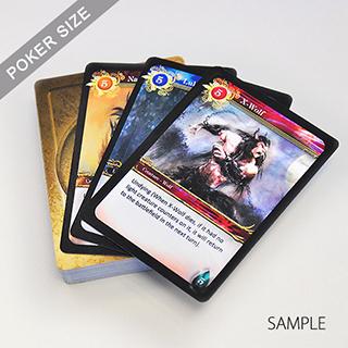 Custom game card template for game designer maxwellsz