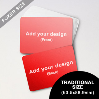 Custom Blank Game Cards - Landscape (63.5 x 88.9mm)