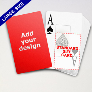 Large Playing Cards Series – Classic Poker With Jumbo Index