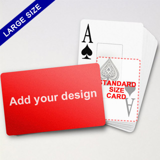 Large Playing Cards Series – Classic Poker With Jumbo Index (Landscape)