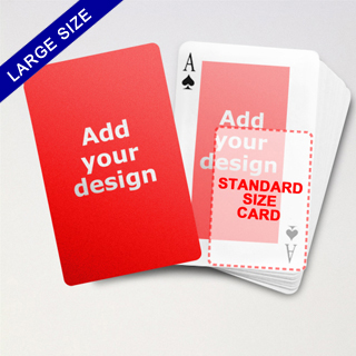 Large Playing Cards Series – Double Face Classic Poker