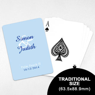 Wedding Invitation Classic Playing Cards 63 5 X 88 9mm