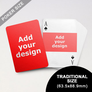 Landscape Photo Custom Front and Back Playing Cards (63.5 x 88.9mm)