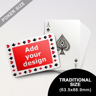 Timeless Frame - Custom Poker (Landscape) (63.5 x 88.9mm)