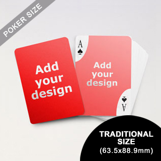 Decorative Corners Custom Front and Back Playing Cards (63.5 x 88.9mm)