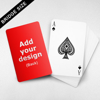 Bridge Size Custom Card