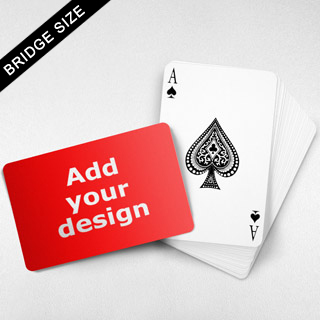Bridge Size Custom Card – Landscape