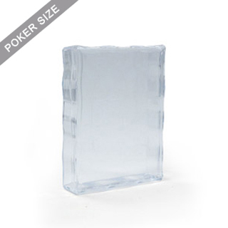 Clear plastic case for 54 poker size playing cards
