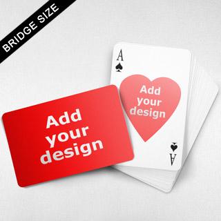 Bridge Size Playing Cards – Heart Back