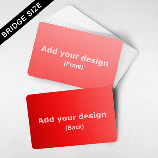 Blank Card in Bridge Size – Landscape