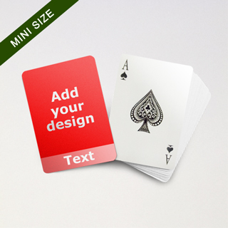 Mini Card Series – Custom Front with Transparent Bottom Banner